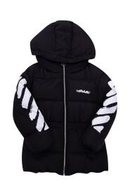 Hooded jacket with padding