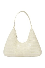 Amber Bag in Croco Embossed Leather