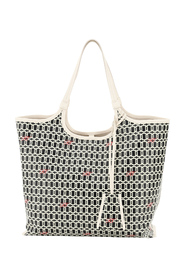 grand vivier shopping bag in coated canvas