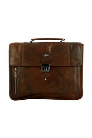 Leather PC briefcase