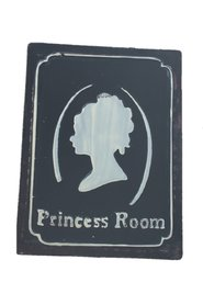 Plate Sign Vintage Princess Room