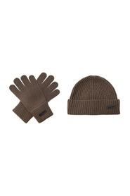 Baseball cap and gloves set