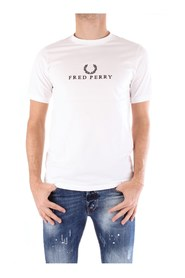 FRED PERRY M2605 T shirt  Men WHITE