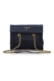 Nylon Chain Shoulder Bag