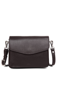 Thea Dark Brown Cormorano Shoulder Bag