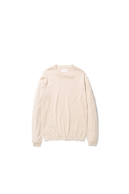 Beige Norse Projects Sigfred Dry Cotton Strikk