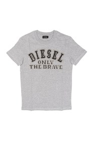 DIESEL TIPPI 00J3Y2 00YI9 T SHIRT AND TANK Unisex Boys GREY HEATHER
