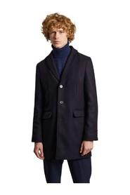 Made in France virgin wool overcoat