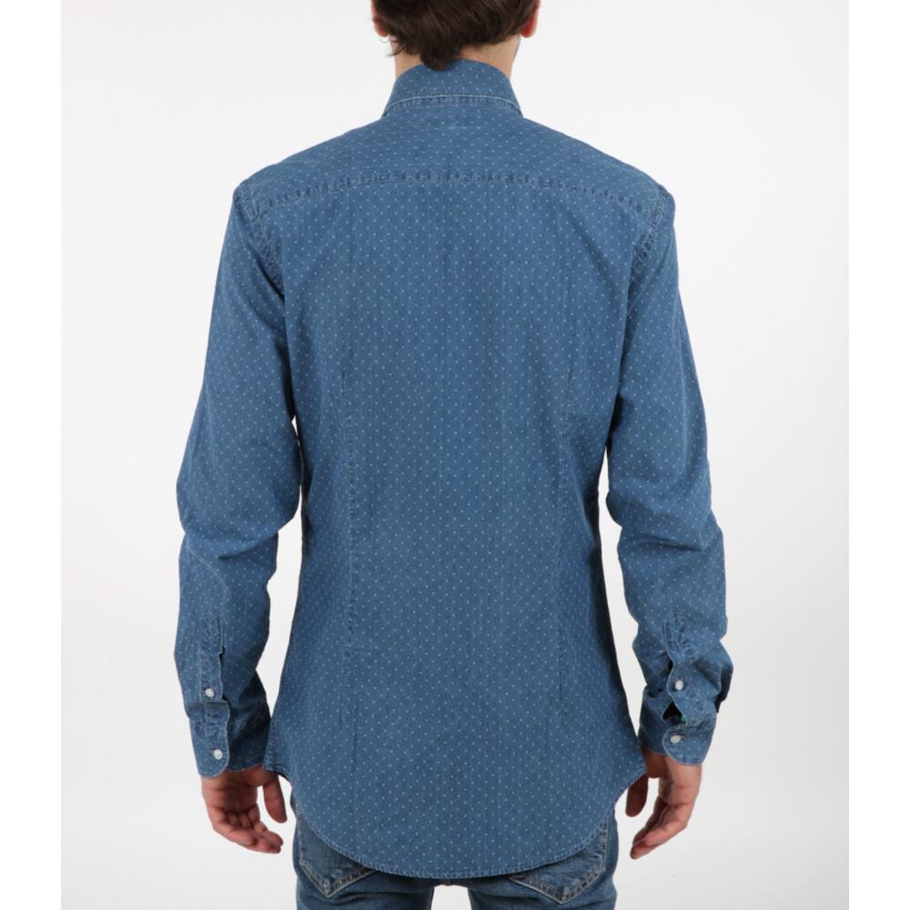 Blue Shirt | Fay | Zakelijke Overhemden | Herenkleding