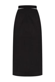 La Valerie wool skirt