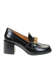 jessa loafers in leather with buckle