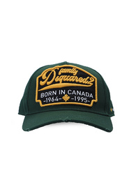 Logo-patched baseball cap