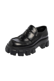 pre-owned Patent Leather Monolith Chunky Loafers