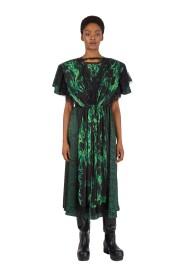 Smoke Python Print Double Dress