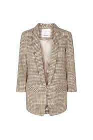 Tan Co`couture Dean Check blazer