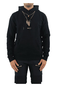 Feathers Necklace Reg Hoodie