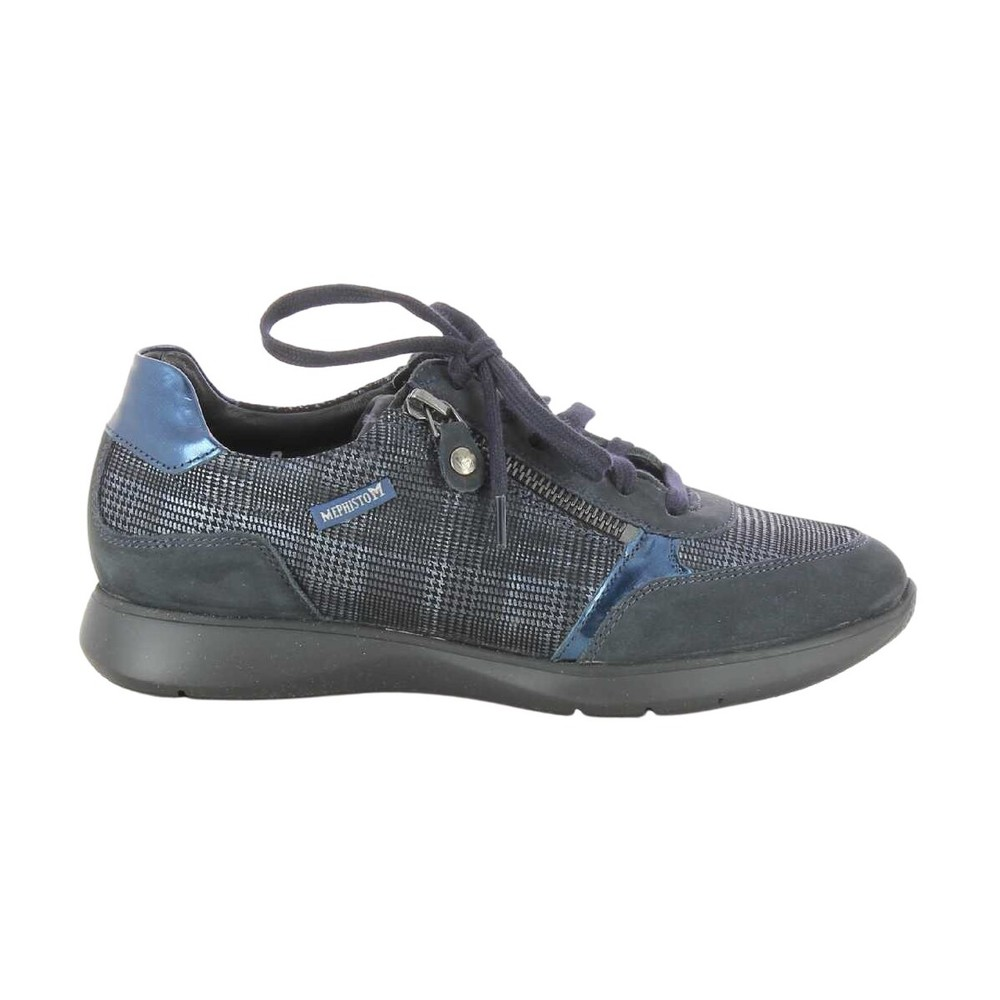 Blue Shoes  Mephisto  Sneakers
