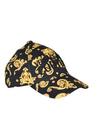 COUTURE JEWEL PRINT HAT