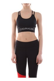 CK PERFORMANCE 00GWS9K116 LOW SUPPORT SPORT BRA Women BLACK