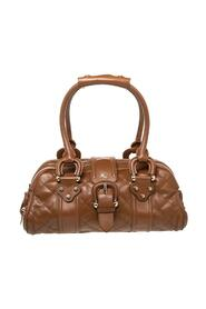 Pre-owned Quilted Patent Leather Manor Satchel