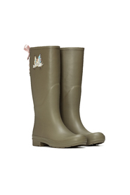 Odd MOLLY 616M-707 Tide rainboot mid cargo Grön