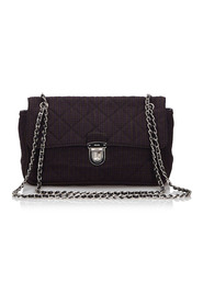 Quilted Cotton Chain Shoulder Bag