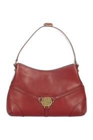 Begagnade Reins Hobo Bag Leather Calf