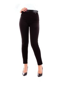 FRACOMINA FR19FP124 Leggings Women BLACK