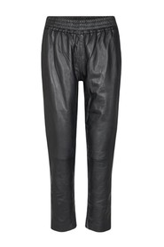Shiloh Crop Leather broek
