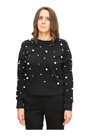 Sweatshirt with Pearls