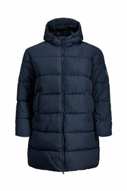 Plus size puffer jacket Hooded plus size puffer