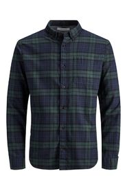 Jjewashington Checkered Long Sleeve Shirt