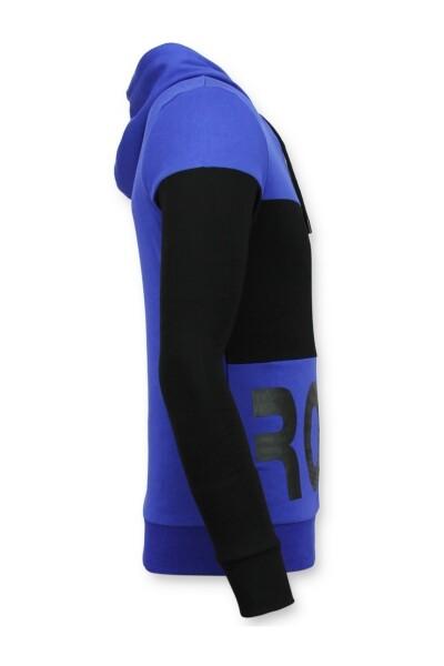 Black/blue Bluza Enos Bluzy