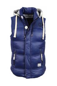 Body warmer with hood