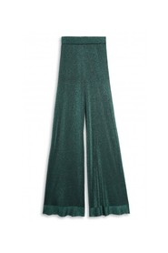WIDE LUREX TROUSERS