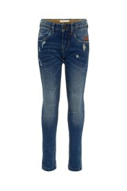 Regular fit jeans distressed detail