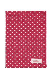 Penny - 8 tea towels in red from Greengate