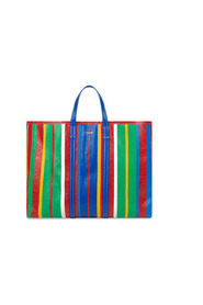 Barbes East-West striped shopper tote