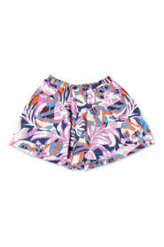 printed cotton jersey shorts