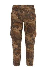 Camo pattern trousers