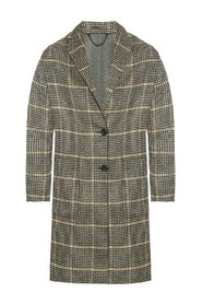 'Anya' checked coat