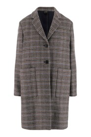 Coat Revers Long sleeves and lined Single breasted button closure