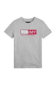 TOMMY HILFIGER KB0KB04681 ESSENTIAL GRAPICH T SHIRT AND TANK Unisex Boys GREY