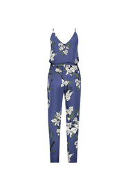 JOSH V jumpsuit model OHIO kleur Paradiso Flower Ocean Blue