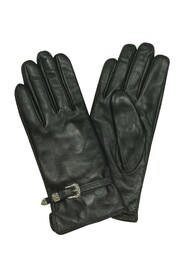 Leather Women's Gloves Buckles