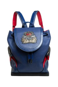 Leather and Rubber Explorafunk Backpack