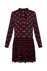 All-over hearts dress