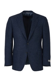 Contemporary jacket with simple fastening