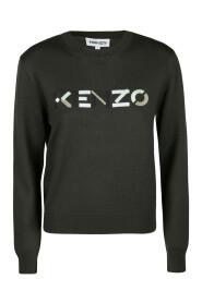 KENZO logo merino wool jumper