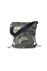 Shoulder Bag Flower Linen